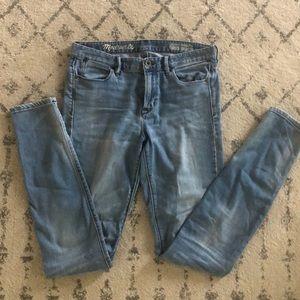 Madewell Tall Highriser Jeans 28T